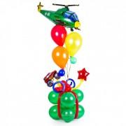 Фигуры из воздушных шаров Подарок для мальчика от компании Шар-MSK