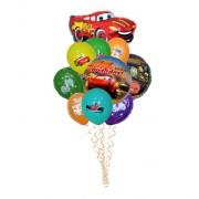 Букет воздушных шаров Тачки 30 + 3 шт. от компании Шар-MSK
