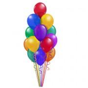 Букет из воздушных шаров  Ассорти Компактный 30 шт. от фирмы Шар-MSK