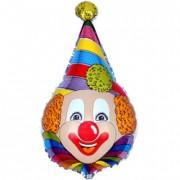 Фольгированный воздушный шар Клоун 40 см от фирмы Шар-MSK