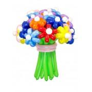 Букет цветов из воздушных шаров Ассорти Шар-MSK 21 шт. по доступной цене