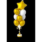 Букет шаров Звездный 30 + 1 шт