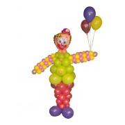 Фигуры из воздушных шариков Клоун 2 м от компании Шар-MSK