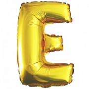 Фольгированный воздушный шар Буква золотая с гелием 70 см от фирмы Шар-MSK