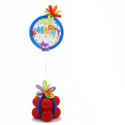 Фигуры из воздушных шаров Летающий подарок от компании Шар-MSK