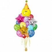 Букет шаров C днем рождения 30 + 4 шт от компании Шар-Msk