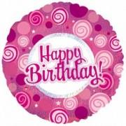 Фольгированный воздушный Шар С днем рождения! от фирмы Шар-MSK
