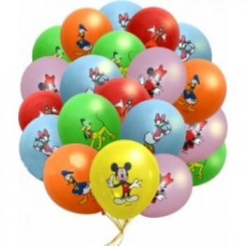 Букет воздушных шаров Герои Диснея 25 шт.