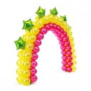 Купить арку из воздушных шаров на Новый год с доставкой