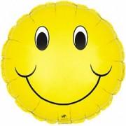 Фольгированный воздушный шар Смайл 40 см от фирмы Шар-MSK
