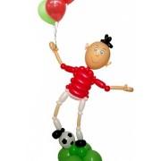 Фигуры из воздушных шаров Футболист с шарами от фирмы Шар-MSK
