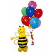 Фигуры из воздушных шаров Пчела + 10 шаров от фирмы Шар-MSK