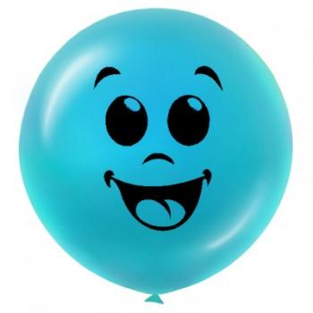 Печать на большом воздушном шаре с гелием - 1м (5 шт.)